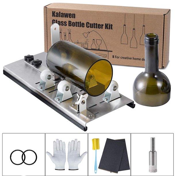 DIY Glass Bottle Cutter Adjustable Sizes Metal Glassbottle ...