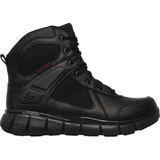 e6409ac36c31 skechers - men s skechers work telfin sawaga waterproof boot - Walmart.com