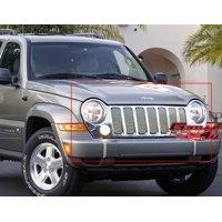 Fits 2005-2007 Jeep Liberty Main Upper Billet Grille #J65496V
