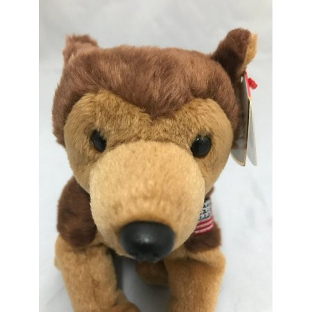 Ty Beanie Babies Courage NYPD German Shepherd Dog By Ty