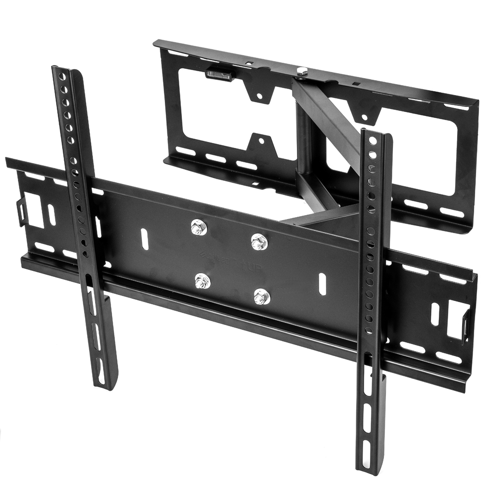 Sunydeal Full Motion TV Wall Mount Bracket for Vizio Samsung Sharp Sony Sanyo LG Panasonic 30 32 39 40 42 43 46 47 48 49 50 55 60 inch Plasma LCD LED 4K Flat Panel Smart TV, Tilt & Swivel