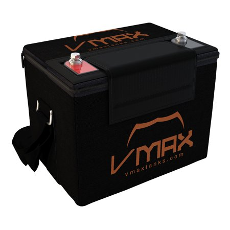VMAX857 with U1 Carry Case AGM Deep Cycle Group U1 Battery Replacement for Everest & Jennings Traveler Quest 12V 35Ah Wheelchair Battery