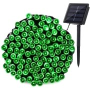 Outdoor Christmas Solar String Lights 72ft 200 LED Fairy Decoration String Lights for Garden Patio Party Wedding and ect.(Green)