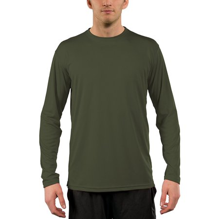 0d23b169 Vapor Apparel - Vapor Apparel Men's UPF 50+ UV (Sun) Protection Performance  Long Sleeve T-Shirt - Walmart.com