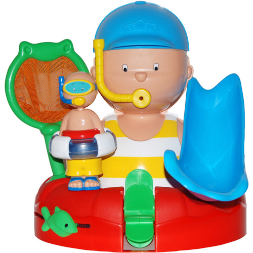Caillou Bathtime With You Play Set