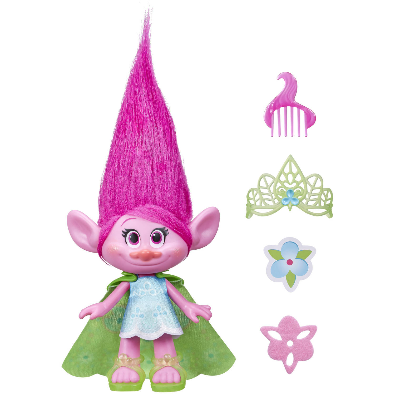 "DreamWorks Trolls Poppy 9"" Figure"