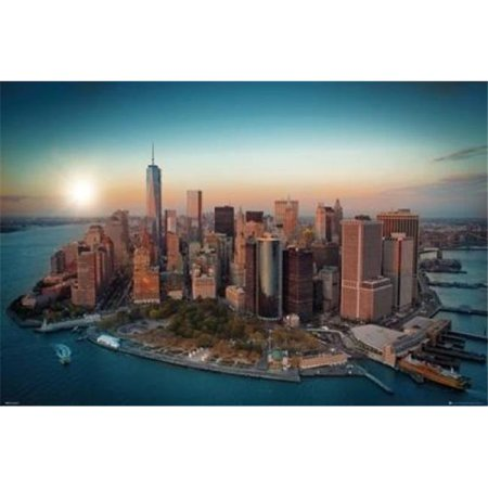 New York Freedom Tower - Manhattan Poster Print - 24 x 36 in. - image 1 of 1