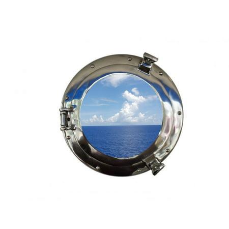 Deluxe Class Chrome Porthole Window 15