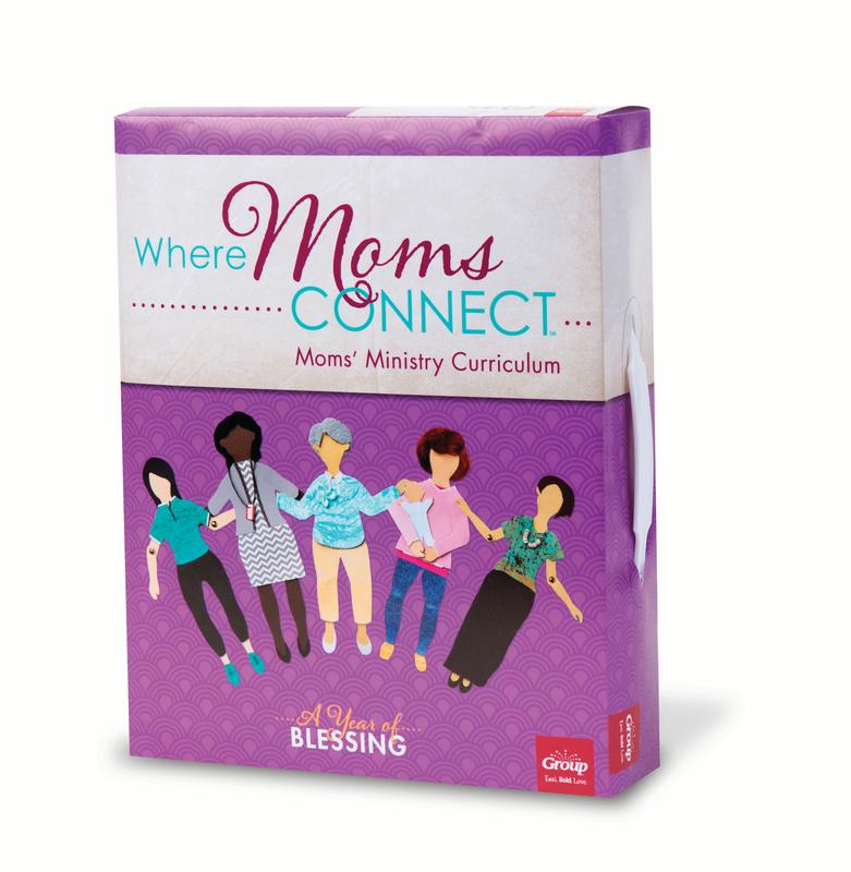 Where Mom's Connect: A Year of Blessing : Moms' Ministry Curriculum