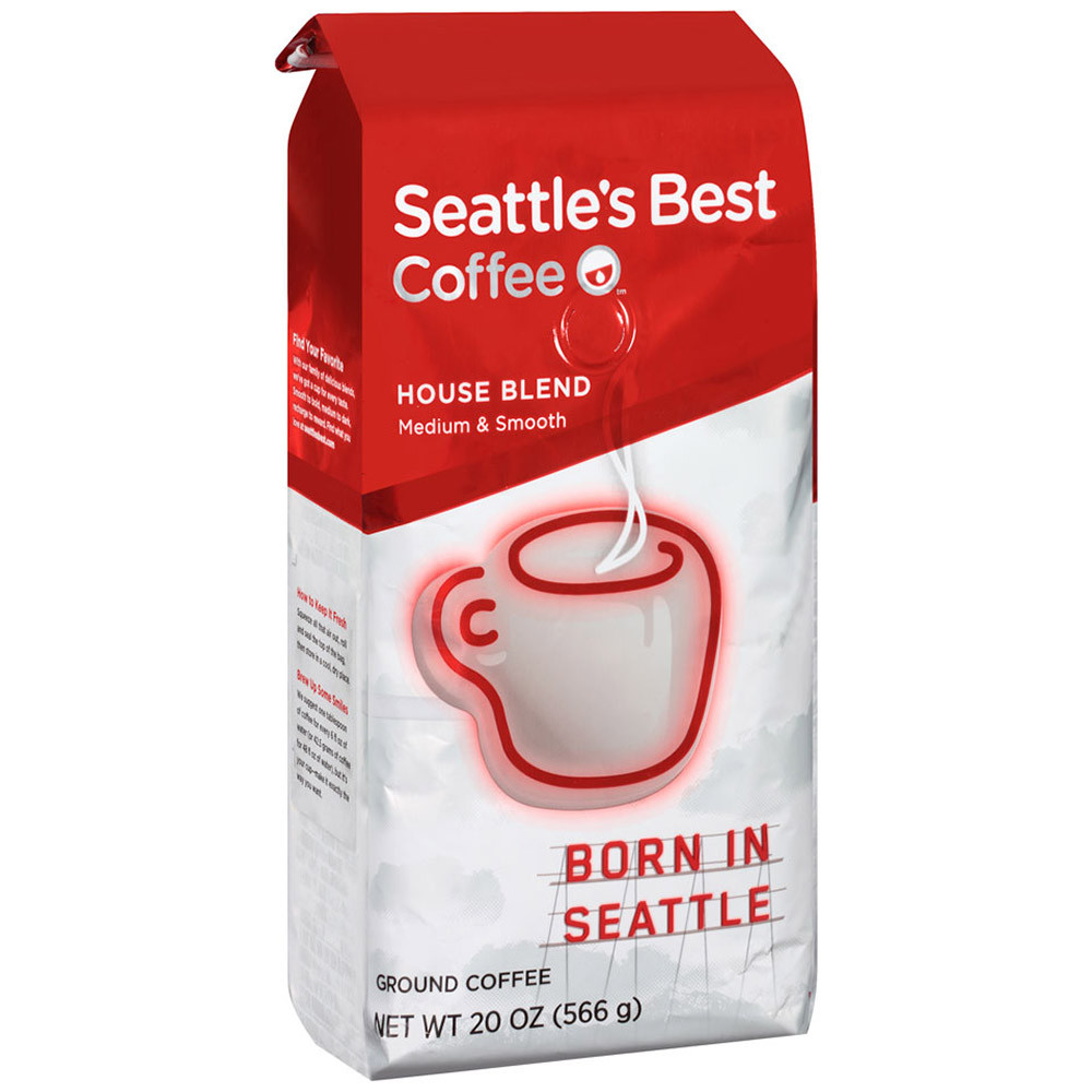Seattle s Best House Blend Ground Coffee 20 oz. 3-Count