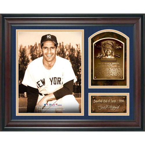MLB - Phil Rizzuto Framed Baseball Hall of Fame Milestones & Memories Collage