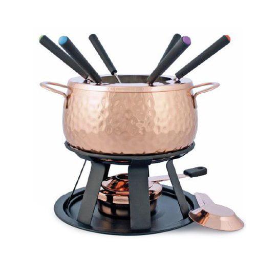 Swissmar Biel 11 pc. Copper Fondue Set