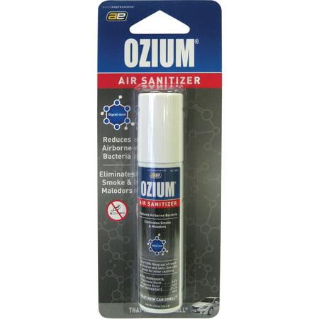 Car Odor Eliminator >> Ozium Smoke Odor Eliminator Car Home Air Sanitizer Freshener 0 8oz New Car