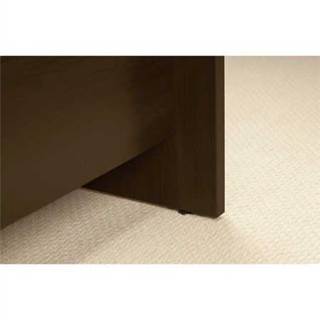 Series C Elite 60W x 30D Desk Shell with Hutch in Mocha Cherry - image 4 de 9