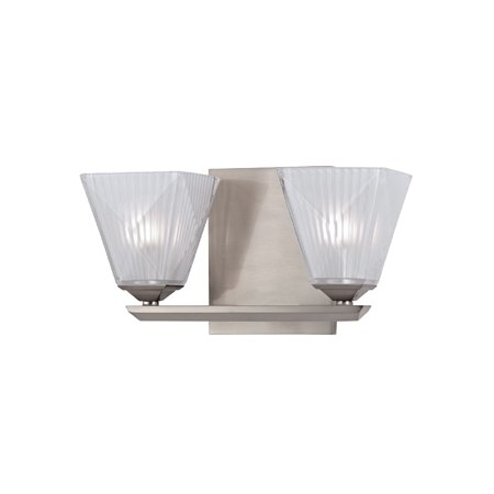 Hudson Valley Lighting 2432 Hammond 2 Light Xenon Bathroom Vanity Light Walmart Com Walmart Com