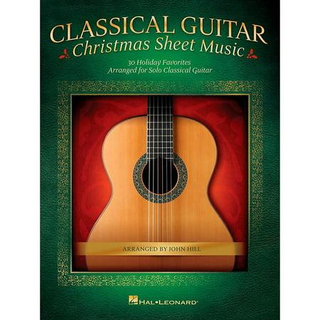 - Hal Leonard Classical Guitar Christmas Sheet Music (No Tab)