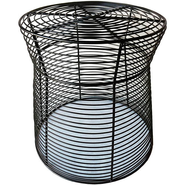 Pangaea Home & Garden 16-inch Metal Wire Side Stool/Table