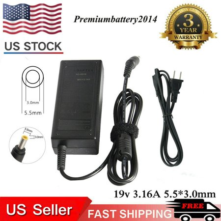 AC Adapter Charger for Samsung R540-JA09US NP-RV511I LAPTOP Power Supply Cord