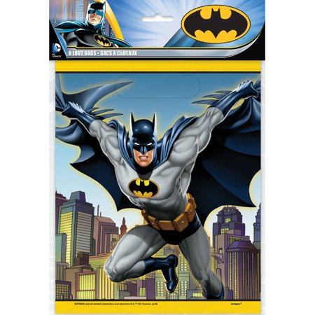Batman Favor Bags, 8ct