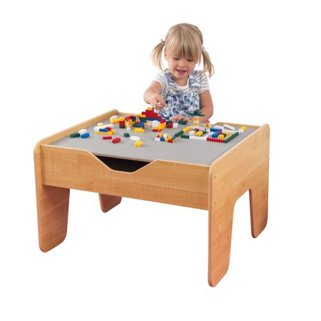 KidKraft Activity Play Table - Gray & Natural