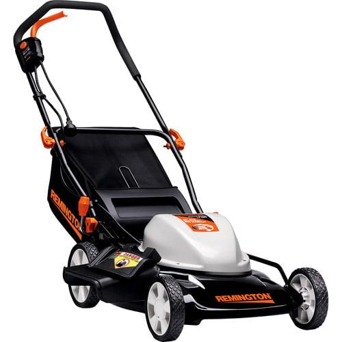 "Remington 19"" Side-Discharge/Mulch/Rear Bag Electric Lawn Mower"