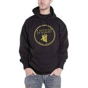 5 Seconds Of Summer Men's  Derping Hooded Sweatshirt Black