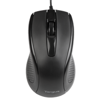 Targus 3-Button USB Full-Size Optical Mouse - AMU81USZ