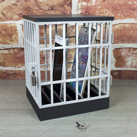 Cell Phone Jail Cell Prison Lock-Up Stop Disturbances Distractions Talking Fun Gag Party
