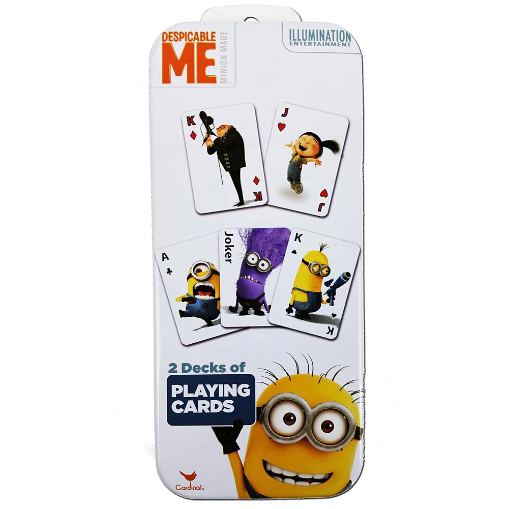 Despicable Me Minions Set of 2 Card Decks