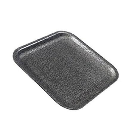 (CKF 1SB, #1S Black Foam Meat Trays, Disposable Standard Supermarket Meat Poultry Frozen Food Trays, 100-Piece Bundle)