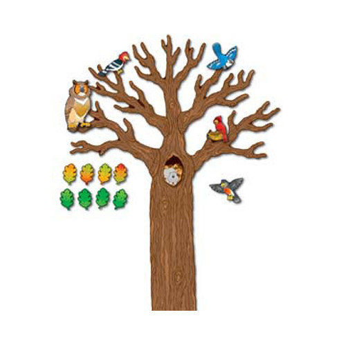 Frank Schaffer Publications/Carson Dellosa Publications Big Tree with Animals Accent Set