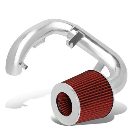 For 2004 to 2006 Scion xA 1.5L 1 -Piece Aluminum Engine Cold Air Intake System Kit w / Red Filter 05 (05 Crown Vic Cold Air Intake)