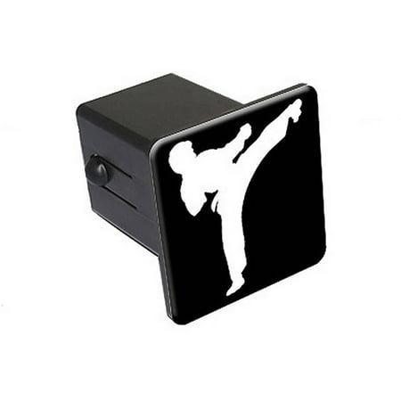 """Karate Kick 2"""" Tow Trailer Hitch Cover Plug Insert"""