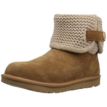 510c21c15df UGG Kids K Darrah II Pull-on Boot, Chestnut, 6 M US Big Kid