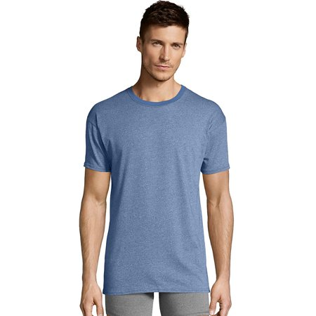 e591ecbe178 Hanes Men's 1901 Heritage Dyed Crewneck T-shirt 4-Pack - 191CA4 -  Walmart.com