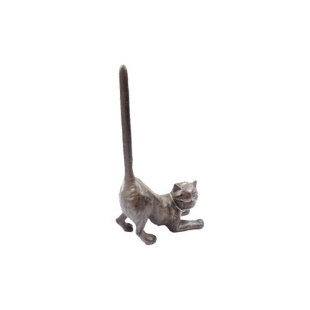 - Cast Iron Cat Extra Toilet Paper Stand 10