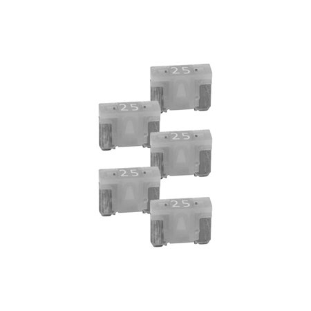 NIPPON ATM-LPM 25A Audiopipe 25A Low Profile Mini Fuse 10 Pack 10 Low Profile Fuse