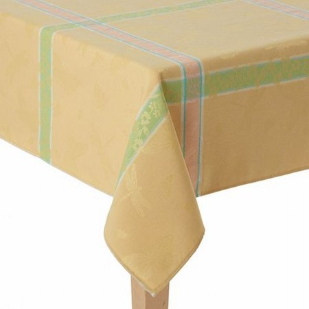 60x84 Fabric Tablecloth - Celebrate Together Yellow Windowpane Plaid Tablecloth Fabric Table Cloth 60X84
