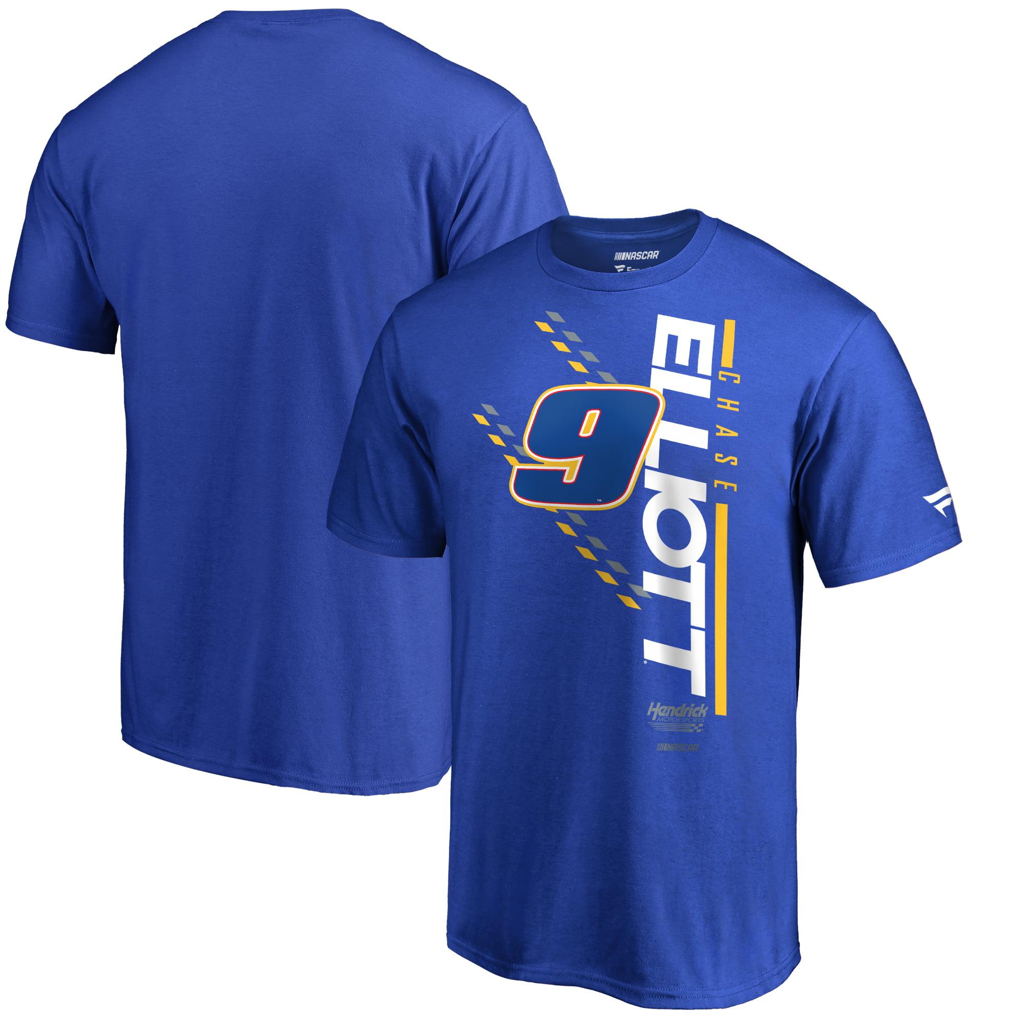 Chase Elliott Fanatics Branded NASCAR Track Bar T-Shirt - Royal