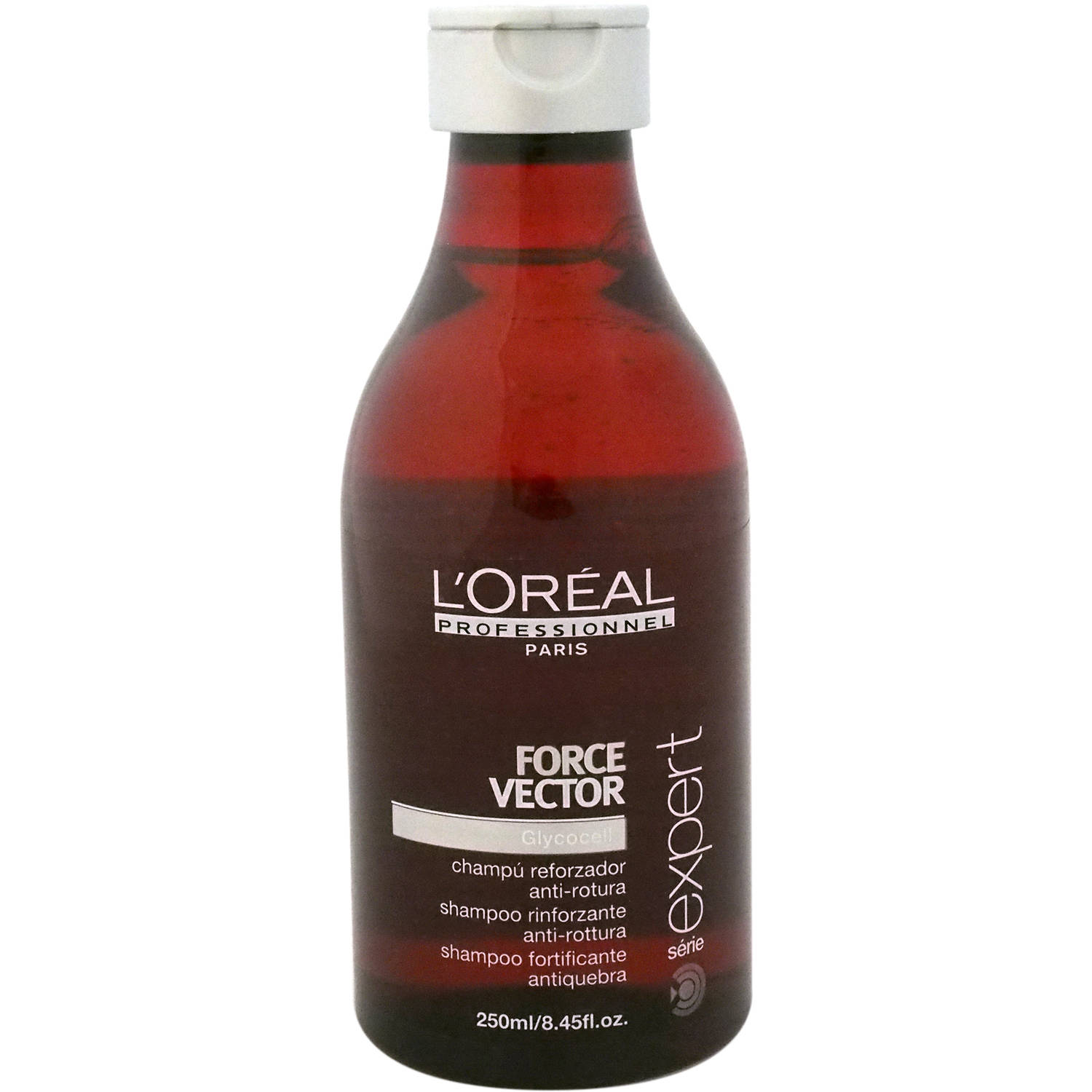 L'Oreal Professional Serie Expert Force Vector Glycocell Shampoo, 8.45 oz