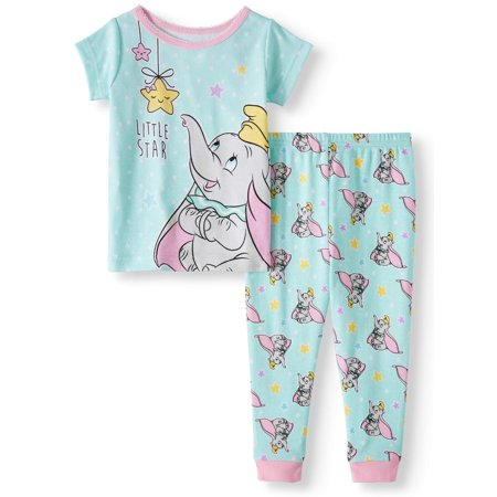 Cotton Tight Fit Pajamas, 2pc Set (Baby - Baby Girl Holiday Pajamas