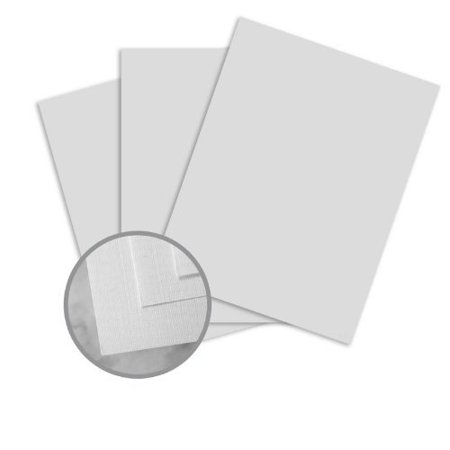 CLASSIC Linen Antique Gray Paper - 8 1/2 x 11 in 24 lb Writing Linen Watermarked 500 per Ream 24 Lb Royal Linen
