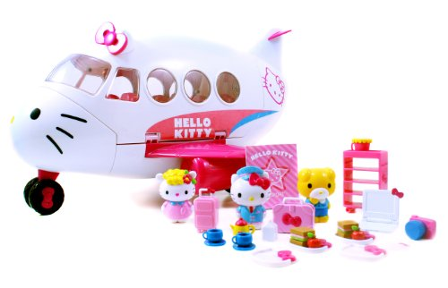 Jada Toys Hello Kitty Jet Plane Play Set by Jada Toys