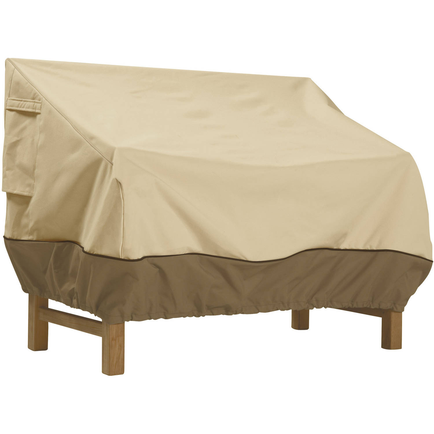 "Classic Accessories Veranda Patio Bench and Loveseat Furniture Storage Cover, Large, fits up to 88""L x 32.5""W"