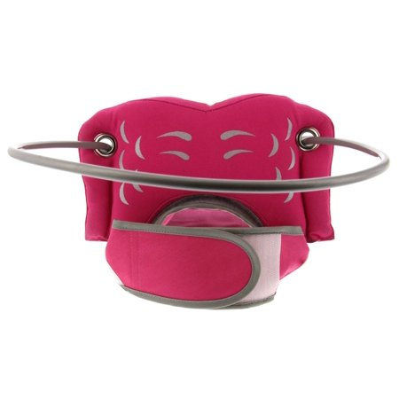 Dog House Blind - Muffin's Halo Guide for Blind Dogs - Pink Angel Wings