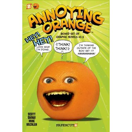 Annoying Orange Graphic Novels Boxed Set: Vol. #1-3