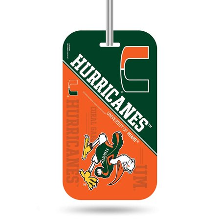 NCAA Auburn Tigers Plastic Team Luggage Tag, Team Colored Plastic Luggage Tag Measures 3-inches by 7.5-inches By Rico Industries