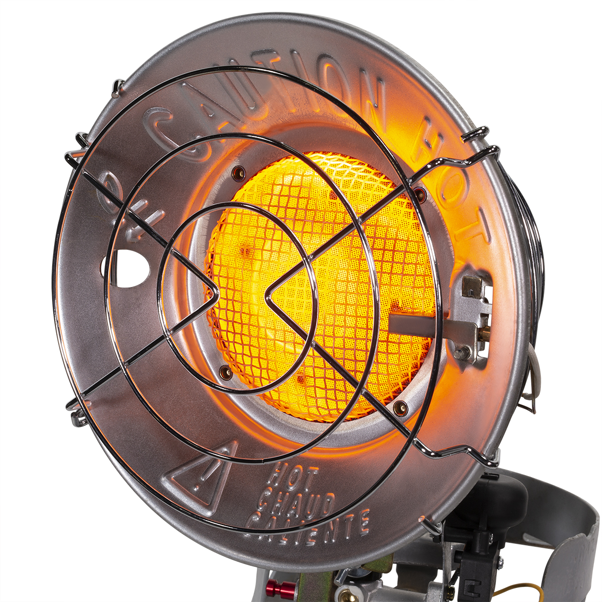 XtremepowerUS Deluxe 15,000 BTU Propane Tank Top Heater Portable Infrared Heater with Safety Shut-Off Valve /& Tip-Over Switch CSA for Outdoor