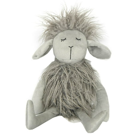 Little Starter Grey Mongolian Plush Dog