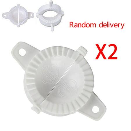2X Press Plastic Dough Dumpling Pie Making Maker